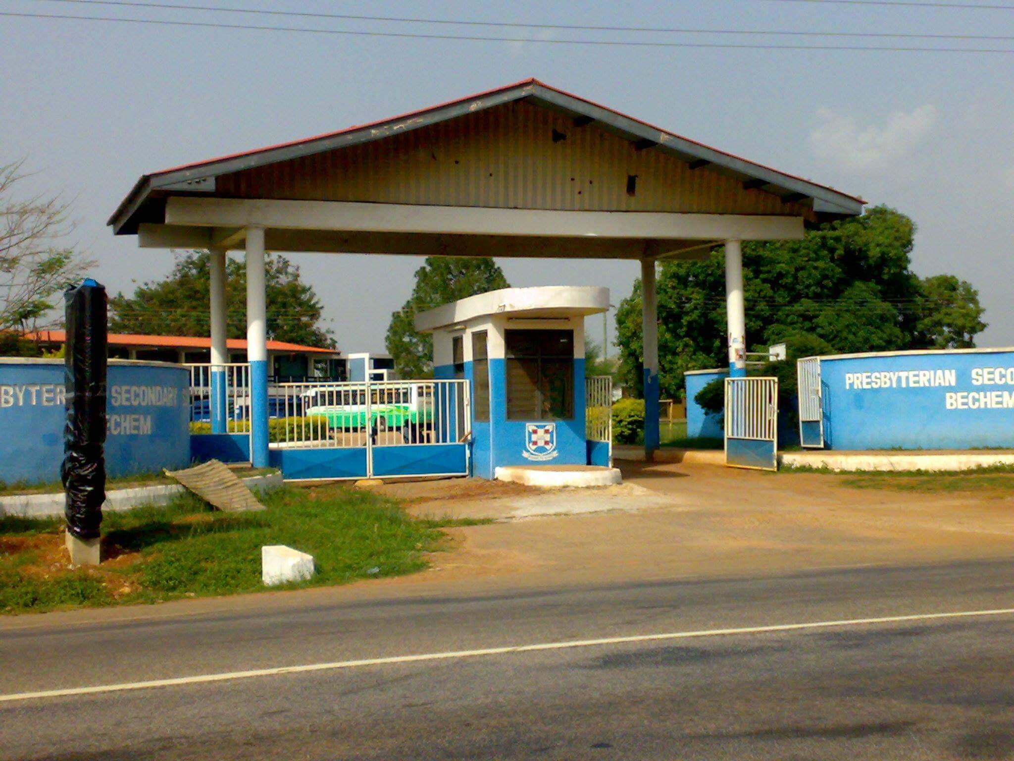 Bechem Presby Senior High Entrance