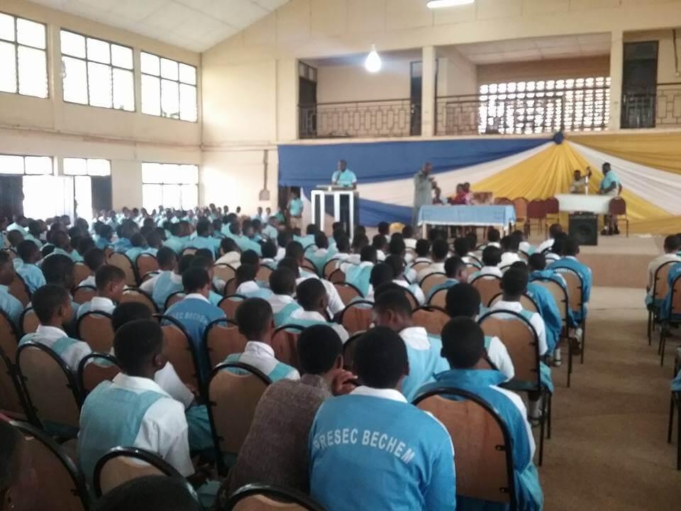 Bechem Presby Senior High Students